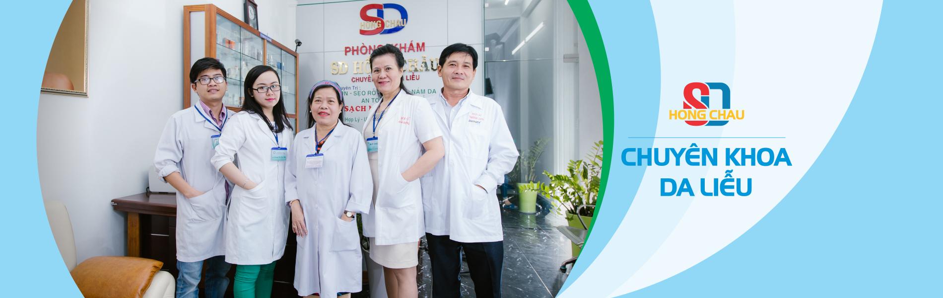 Đội ngũ bác sĩ tại sd Hồng châu